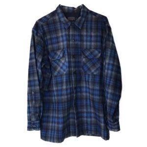 Pendleton flannel board shirt
